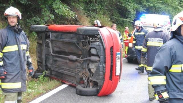 Verkehrsunfall Katzgraben