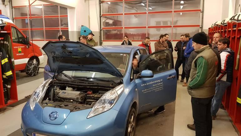 Spezialschulung Elektroauto & Alarmierungsordnung NEU