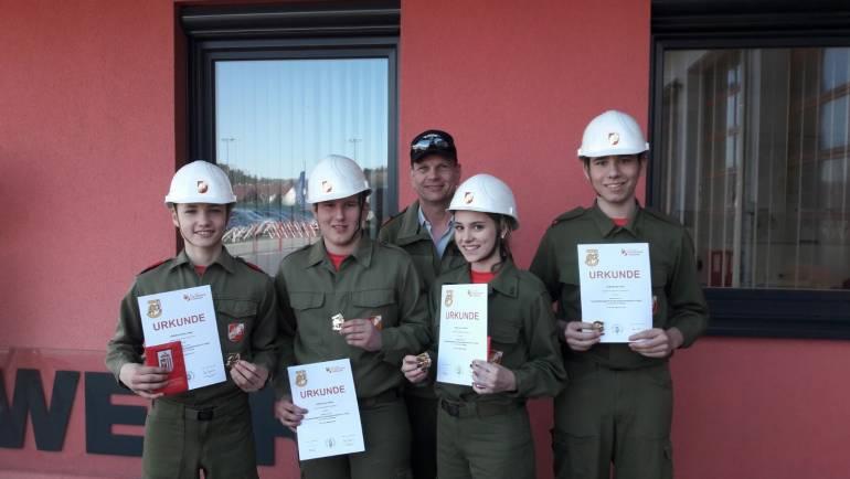 Jugend-Leistungsabzeichen in GOLD