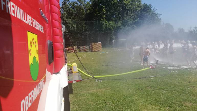 Feuerwehr goes Volksschule
