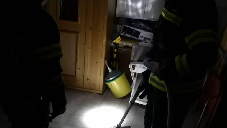 Einsatz Wasseraustritt