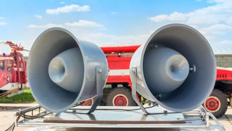 Ankündigung Lautsprecherdurchsagen