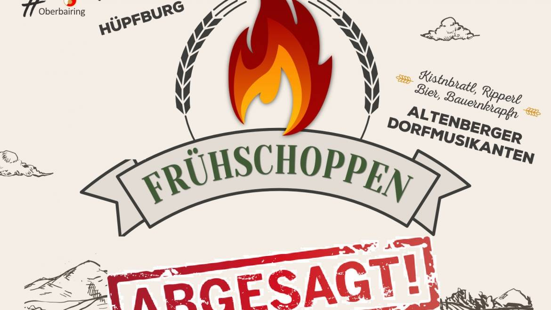Absage Frühschoppen inkl. Fahrzeugsegnung